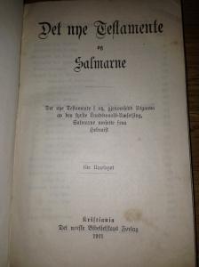 Prenta i Kristiania 1921