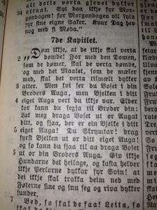 Dette er merkeleg nok eit av favorittsitata mine frå bibelen.