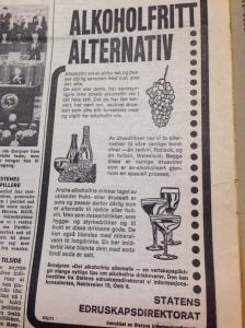 Alkoholfri vin smakar slett ikkje fælt, ifylgje staten.